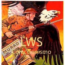 Coleccionismo de carteles: CARTELES PUBLICITARIOS TABACO PUBLICIDAD IMÁGENES CIGARROS PAPEL DE FUMAR MECHEROS CIGARRILLOS. Lote 184051423