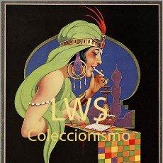 Coleccionismo de carteles: CARTELES PUBLICITARIOS TABACO PUBLICIDAD IMÁGENES CIGARROS PAPEL DE FUMAR MECHEROS CIGARRILLOS. Lote 184051427