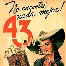 Coleccionismo de carteles: CARTELES PUBLICITARIOS TABACO PUBLICIDAD IMÁGENES CIGARROS PAPEL DE FUMAR MECHEROS CIGARRILLOS. Lote 184051528