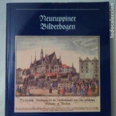 Coleccionismo de carteles: NEURUPPINER BILDERBOGEN MUSEUM FUR DEUSTSCHE VOLKSKUNDE BERLIN 24X17 CM. Lote 184771573