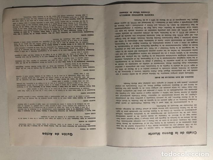 Coleccionismo de carteles: CARTEL DE SEMANA SANTA ALICANTE 1974 - Foto 2 - 187628162