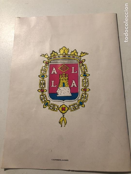 Coleccionismo de carteles: CARTEL DE SEMANA SANTA ALICANTE 1974 - Foto 3 - 187628162