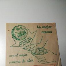 Coleccionismo de carteles: ANUNCIO PUBLICITARIO CREMA PARA ZAPATOS TRACTOR AÑOS 50. Lote 189176736