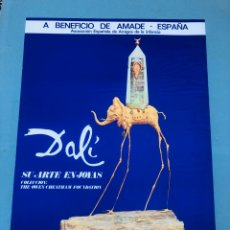 Colecionismo de cartazes: DALÍ CARTEL JOYAS. Lote 189558755