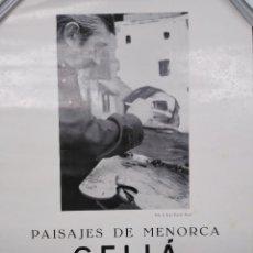 Coleccionismo de carteles: BERNARDINO CELIÁ. PAISAJES DE MENORCA. Lote 190999392