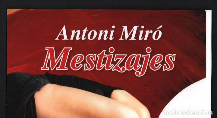 Coleccionismo de carteles: ANTONI MIRÓ MESTIZAJES EL VUELO DEL GATO CARTEL ORIGINAL EXPOSICIN ITINERANTE CUBA 2015-16 SOL PICÓ - Foto 4 - 194011412