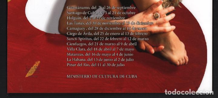 Coleccionismo de carteles: ANTONI MIRÓ MESTIZAJES EL VUELO DEL GATO CARTEL ORIGINAL EXPOSICIN ITINERANTE CUBA 2015-16 SOL PICÓ - Foto 6 - 194011412