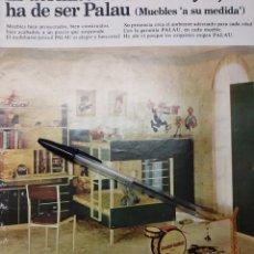 Coleccionismo de carteles: MUEBLES PALAU BENICARLO PUBLICIDAD JUGUETES MORTADELO.. Lote 194348078