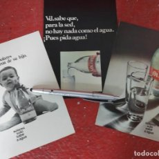 Coleccionismo de carteles: PUBLICIDAD AGUA DE SOLARES.. Lote 194351810