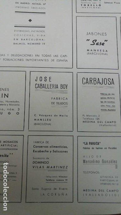 Coleccionismo de carteles: FABRICAS DE CONSERVAS ESCABECHE Y SALAZONES SUCESORA DOMINGO VILAS MARTINEZ SANTA EUGENIA RIBEIRA - Foto 2 - 194356887