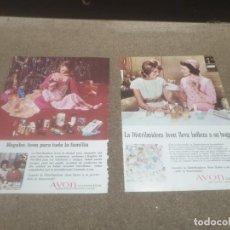 Coleccionismo de carteles: DOS PAGINAS DE PUBLICIDAD......AVON COSMETICS..........REVISTA READER'S DIGEST....AÑOS 70..... Lote 194377671