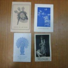 Coleccionismo de carteles: ANTIGUAS ESTAMPAS RELIGIOSAS. Lote 194584392