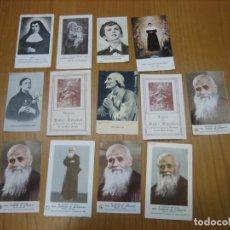 Coleccionismo de carteles: ANTIGUAS ESTAMPAS RELIGIOSAS. Lote 194584520