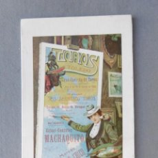 Coleccionismo de carteles: CARTEL PLAZA DE TOROS DE TOLEDO. 19 DE AGOSTO DE 1904. 42 X 19 CM.- MATADORES: RAFAEL GONZÁLEZ MACHA. Lote 194765890