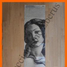Coleccionismo de carteles: LO SGUARDO IMMORTALE DI SIMONETTA CATTANEO - EL NACIMIENTO DE VENUS (SANDRO BOTTICELLI). Lote 194890036