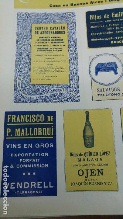 Coleccionismo de carteles: FRANCISCO DE P.MALLORQUI VINS EN GROS EL VENDRELL TARRAGONA HOJA REVISTA AÑO 1920 - Foto 2 - 194895551