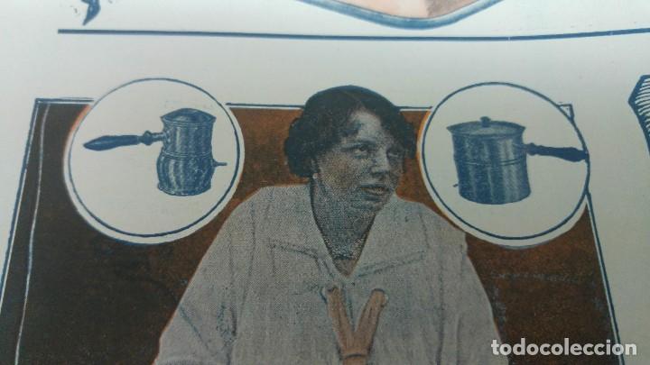 Coleccionismo de carteles: FABRICA APARATOS ELECTRICOS CALEFACCION BATERIAS COCINA -BEROA- ARECHAVALETA HOJA PUBLICIDAD 1920 - Foto 2 - 194906543