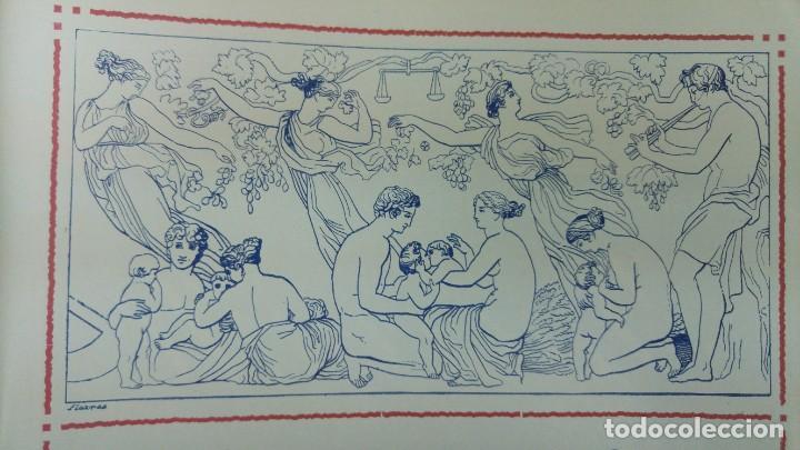 Coleccionismo de carteles: MOSCATEL DULCE LEGITIMO MARCA VIUDA ROBERT SITJES IMPORTADOR EXCLUSIVO ISLA CUBA HOJA AÑO 1920 - Foto 3 - 194906788