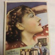 Coleccionismo de carteles: PAPA SE CASA ANTIGUO PROGRAMA DE CINE FOLLETO DE MANO. Lote 194990642