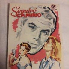 Coleccionismo de carteles: SEGUIRÉ TU CAMINO ANTIGUO FOLLETO PROGRAMA DE MANO. Lote 194990856