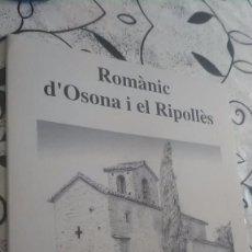 Coleccionismo de carteles: ROMÀNIC D'OSONA I EL RIPOLLÈS. Lote 195067675