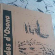 Coleccionismo de carteles: LLEGENDES D'OSONA. Lote 195067910