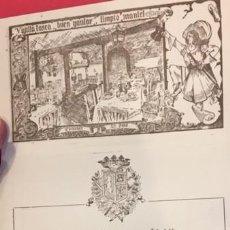 Coleccionismo de carteles: PROPAGANDA-CANTO AL MESON DE CANDIDO. SEGOVIA. Lote 195114667