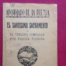 Coleccionismo de carteles: ANTIGUA ESTAMPA RELIGIOSA. CÓRDOBA. Lote 195190115