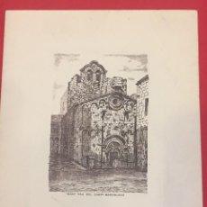 Coleccionismo de carteles: TARJETA Y CARTA A MATILDE LOPEZ SERRANO BIBLIOTECARIA DE PALACIO. SANT PAU DEL CAMP.. Lote 195266107