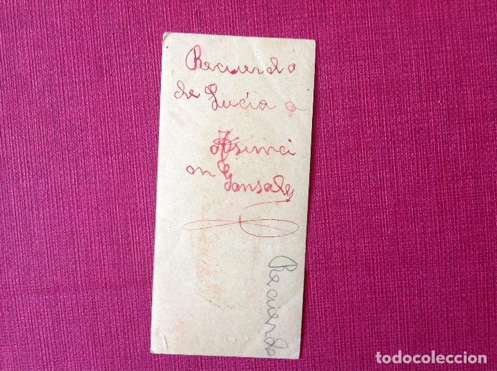 Coleccionismo de carteles: Antigua Estampa religiosa. - Foto 2 - 195316473