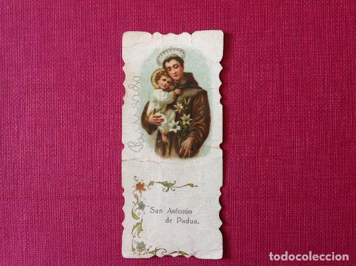 ANTIGUO CARTELITO CON PUBLICIDAD. LIBRERÍA RELIGIOSA. SOBRINO DE IZQUIERDO. SEVILLA (Coleccionismo - Carteles Pequeño Formato)