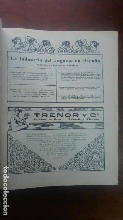 Coleccionismo de carteles: TRENOR Y Cª FABRICAS EN GRAO DE VALENCIA Y VINALESA GUANO SUPERFOSFATOS ABONOS HOJA AÑO 1920 - Foto 2 - 195354157
