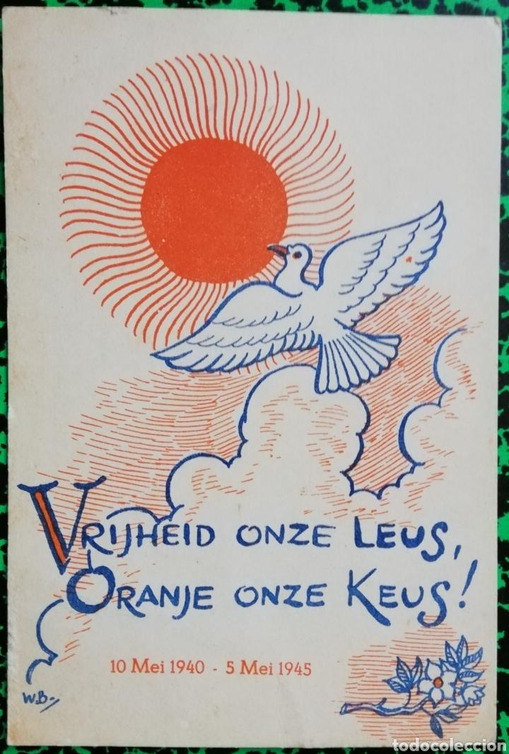 HOLANDA -2 - 10 DE MAYO 1940 ~ 5 DE MAYO 1945 - TAMAÑO POSTAL - PJRB (Coleccionismo - Carteles Pequeño Formato)