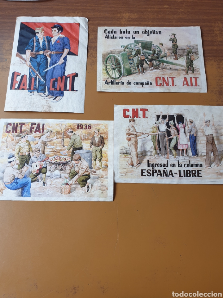 CNT FAI AIT (Coleccionismo - Carteles Pequeño Formato)