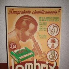Coleccionismo de carteles: LOMBRIX. Lote 195482828