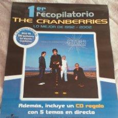 Coleccionismo de carteles: THE CRANBERRIES - POSTER 2002. Lote 195489796