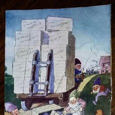 Coleccionismo de carteles: PUBLICIDAD A DOBLE CARA MALTE KNEIPP. PATENTE KATHREINER.. Lote 195509995