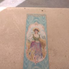 Coleccionismo de carteles: CROMO - TARJETA PUBLICIDAD - CASA RAYO - ENCAJES - VESTIDOS - CABALLERO DE GRACIA - MADRID -. Lote 195521007