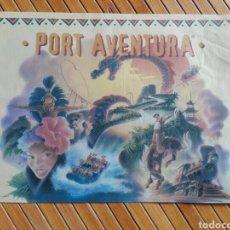 Coleccionismo de carteles: CARTEL/POSTER PORT AVENTURA AÑO 1995. Lote 195551993