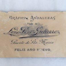 Coleccionismo de carteles: GRÁFICAS ANDALUZAS VIUDA DE LUIS PÉREZ GUTIÉRREZ. Lote 196476286