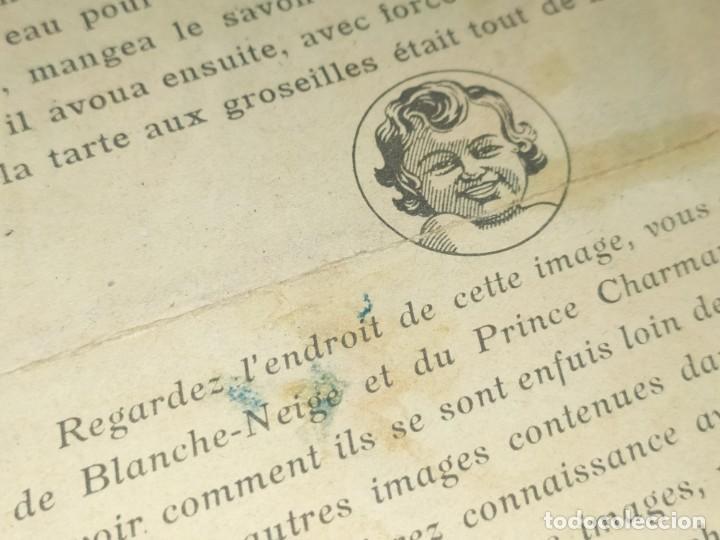 Coleccionismo de carteles: BLANCANIEVES Y LOS SIETE ENANITOS ÚNICO? CARTEL PUBLICIDAD PROGRAMA LÁMINA LITOGRAFÍA PRECIOSO N° 1 - Foto 7 - 196626742