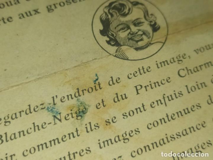 Coleccionismo de carteles: BLANCANIEVES Y LOS SIETE ENANITOS ÚNICO? CARTEL PUBLICIDAD PROGRAMA LÁMINA LITOGRAFÍA PRECIOSO N° 1 - Foto 8 - 196626742