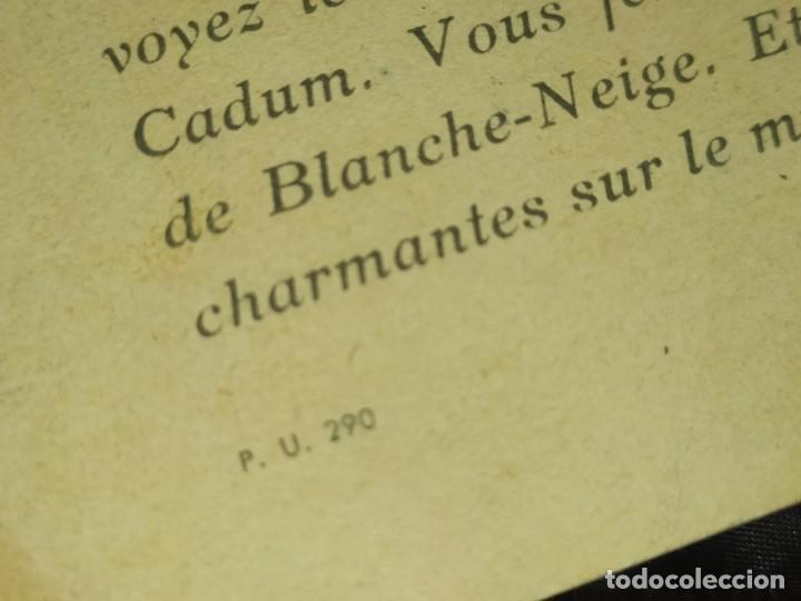Coleccionismo de carteles: BLANCANIEVES Y LOS SIETE ENANITOS ÚNICO? CARTEL PUBLICIDAD PROGRAMA LÁMINA LITOGRAFÍA PRECIOSO N° 1 - Foto 10 - 196626742