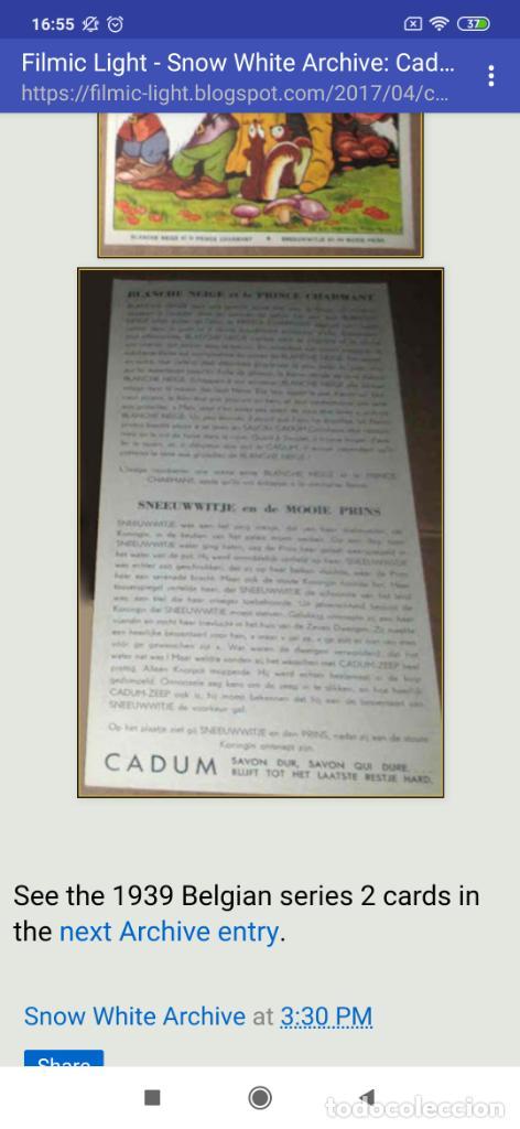 Coleccionismo de carteles: BLANCANIEVES Y LOS SIETE ENANITOS ÚNICO? CARTEL PUBLICIDAD PROGRAMA LÁMINA LITOGRAFÍA PRECIOSO N° 1 - Foto 18 - 196626742