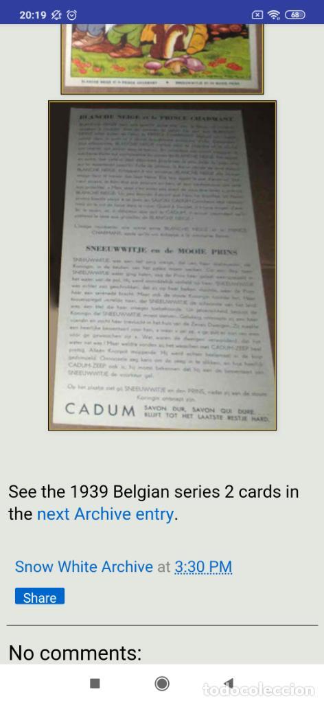 Coleccionismo de carteles: BLANCANIEVES Y LOS SIETE ENANITOS ÚNICO? CARTEL PUBLICIDAD PROGRAMA LÁMINA LITOGRAFÍA PRECIOSO N° 1 - Foto 20 - 196626742