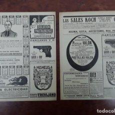 Collectionnisme d'affiches: PISTOLAS MARCA DANTON Y RUBI GABILONDO Y Cª ELGOIBAR GUIPUZCOA ARMAS 2 HOJAS AÑO 1923. Lote 197960096