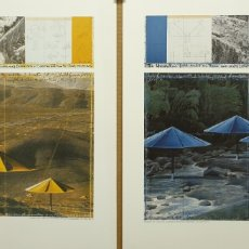 Colecionismo de cartazes: CHRISTO 1991. LITOGRAFÍA MAMAGRAF BCN. Lote 223455331