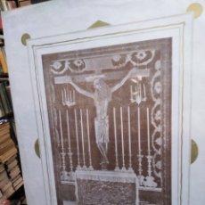 Coleccionismo de carteles: CARTEL ANTIGUO DEL SANTISIMO SALVADOR. Lote 200199953