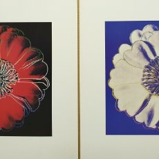 Collectionnisme d'affiches: ANDY WARHOL FLOWER FOR TACOMA DOME. Lote 254888875