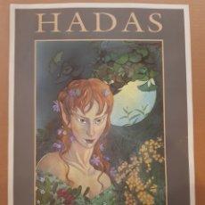 Coleccionismo de carteles: POSTER HADAS , GUIA DE LOS SERES MÁGICOS DE ESPAÑA. Lote 201146073